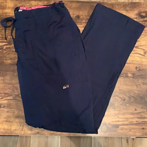 Koi scrub pants in Navy!